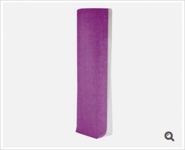 Klarsichtbeutel Kreuzboden PP o. Zellglas bedruckt Jute violet - 100St. : Verpackung für bäkerei konditorei