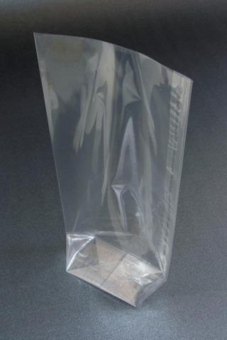 Klarsichtbeutel Kreuzboden PP 30µm - 100 St. : Verpackung für bäkerei konditorei