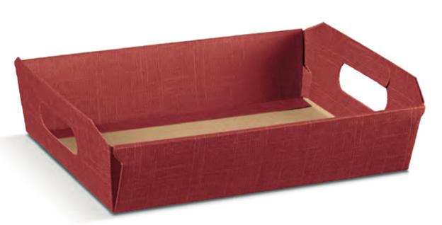 Präsentkorb Pappe 31x22xH9cm  : Korb geschenkkorb