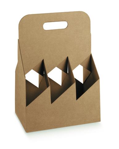 Geschenkkarton 6-Flaschen 33/50/75 cl Design : Verpackung fur flaschen und regionalprodukte
