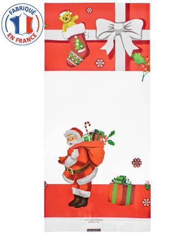 Flachbeutel klarsicht OPP 30µ Weihnachten – 50 St. : Verpackung für bäkerei konditorei