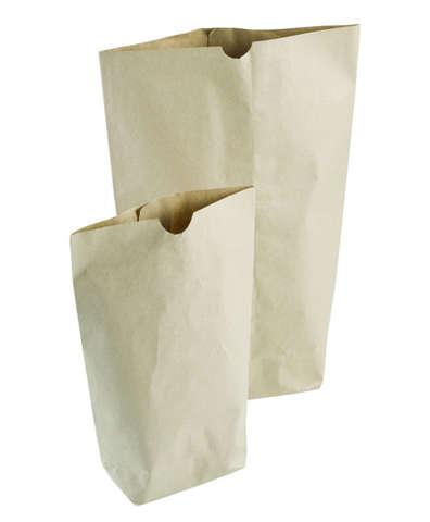 Papiertüte Bodenbeutel naturbraun 60 Gr/m2 : Verpackung für bäkerei konditorei